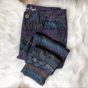 American Eagle Outfitters Stretch Leaf Jegging